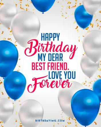 Free Happy Birthday my Dear Friend image - birthdayimg.com