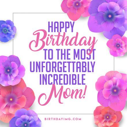 Free For Mom Happy Birthday Image - birthdayimg.com