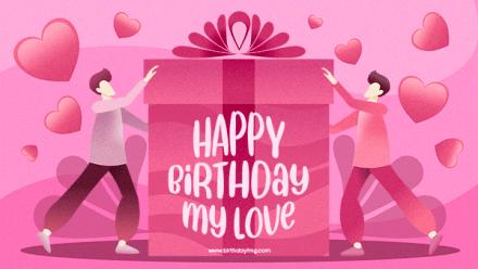 Free Happy birthday Wallpaper For Her - birthdayimg.com