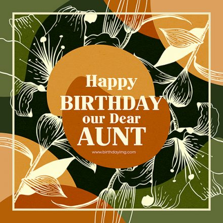 Free Happy Birthday Image For Aunt - birthdayimg.com