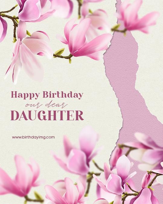Free Happy Birthday Image For Daughter - birthdayimg.com