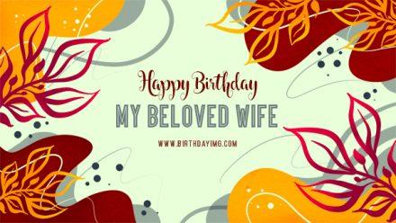 Free Happy birthday Wallpaper for Wife - birthdayimg.com