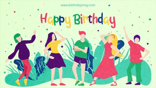 Free Happy birthday Wallpaper for Friend - birthdayimg.com