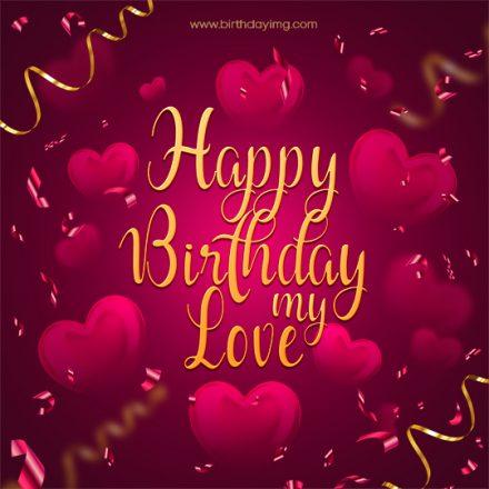 Free Happy Birthday Image Love - birthdayimg.com