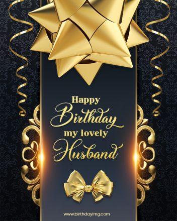 Free Happy Birthday Image For Husband - birthdayimg.com