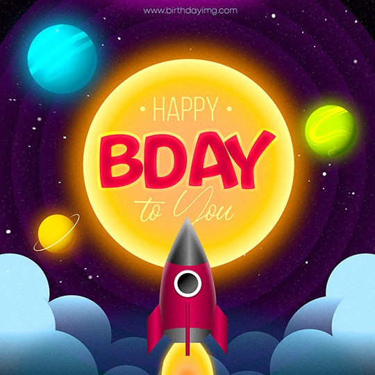 Free Space Happy Birthday Image For Boy - birthdayimg.com