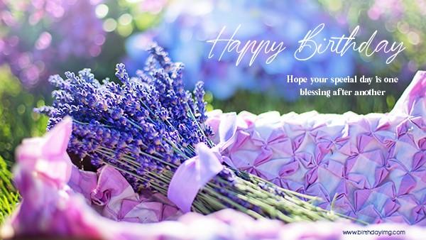 Free Happy Birthday Wallpaper with Flowers - birthdayimg.com
