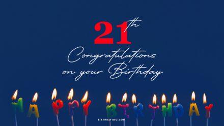 Free 21th Years Happy Birthday Wallpaper - birthdayimg.com