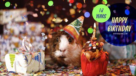 Free 18 Years Happy Birthday Wallpaper - birthdayimg.com