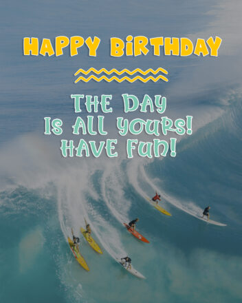 Free Happy Birthday Image With a Beach - birthdayimg.com
