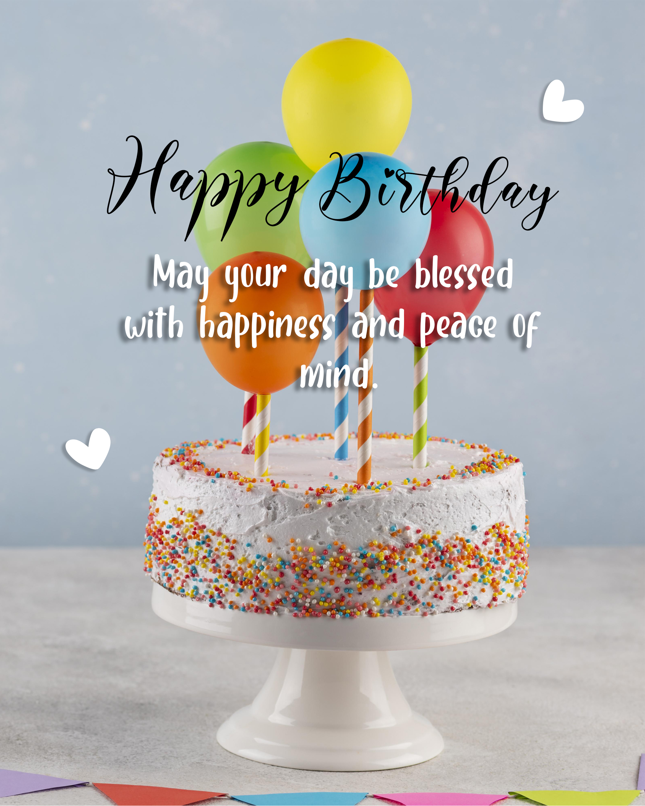 Free Happy Birthday Image With Blessings - birthdayimg.com